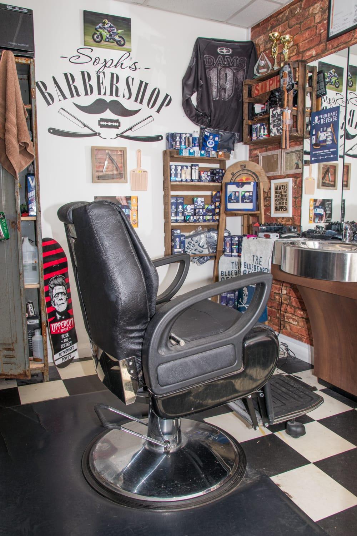 Sophs Barbershop.Barber Mens Haircut, Styling Skinfades Perm`s, Hot towel wet Shave. Gwynedd | 1 Victoria Buildings, Llanbedr LL45 2LD | +44 1341 241379