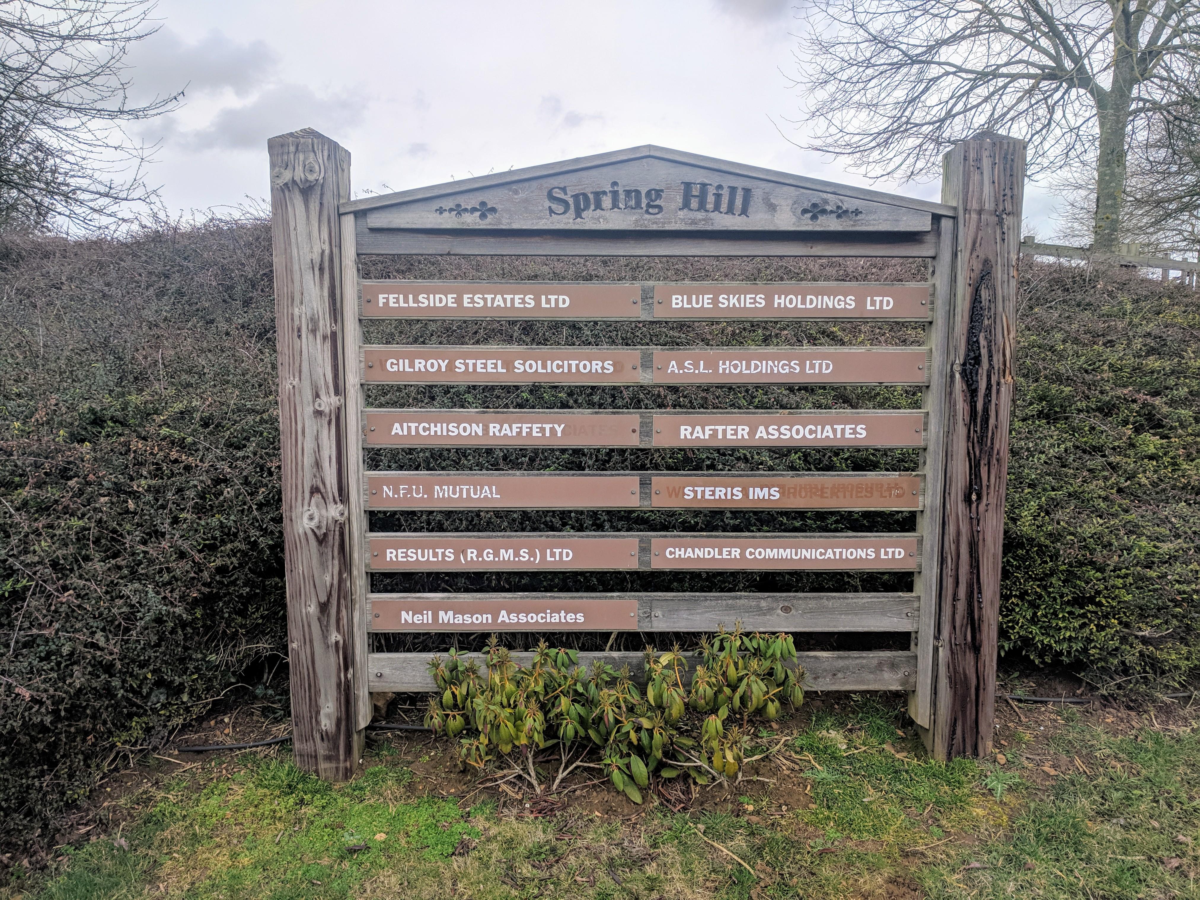 Rafter Wills & Estate Planning Ltd. | 9 Spring Hill Farm, Harborough Road, Pitsford NN6 9AA | +44 1604 889073