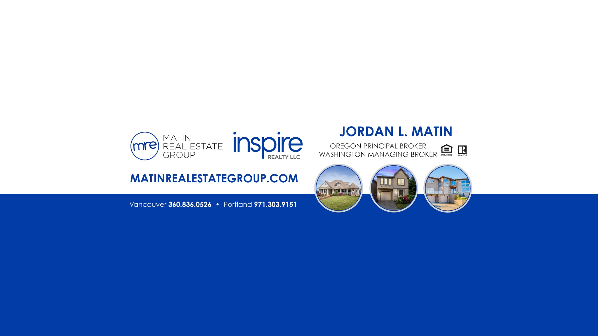 Matin Real Estate Group – Real Estate Agents Portland Oregon - Inspire Realty | 5441 SW Macadam Ave #208, Portland, OR, 97239 | +1 (503) 622-9624