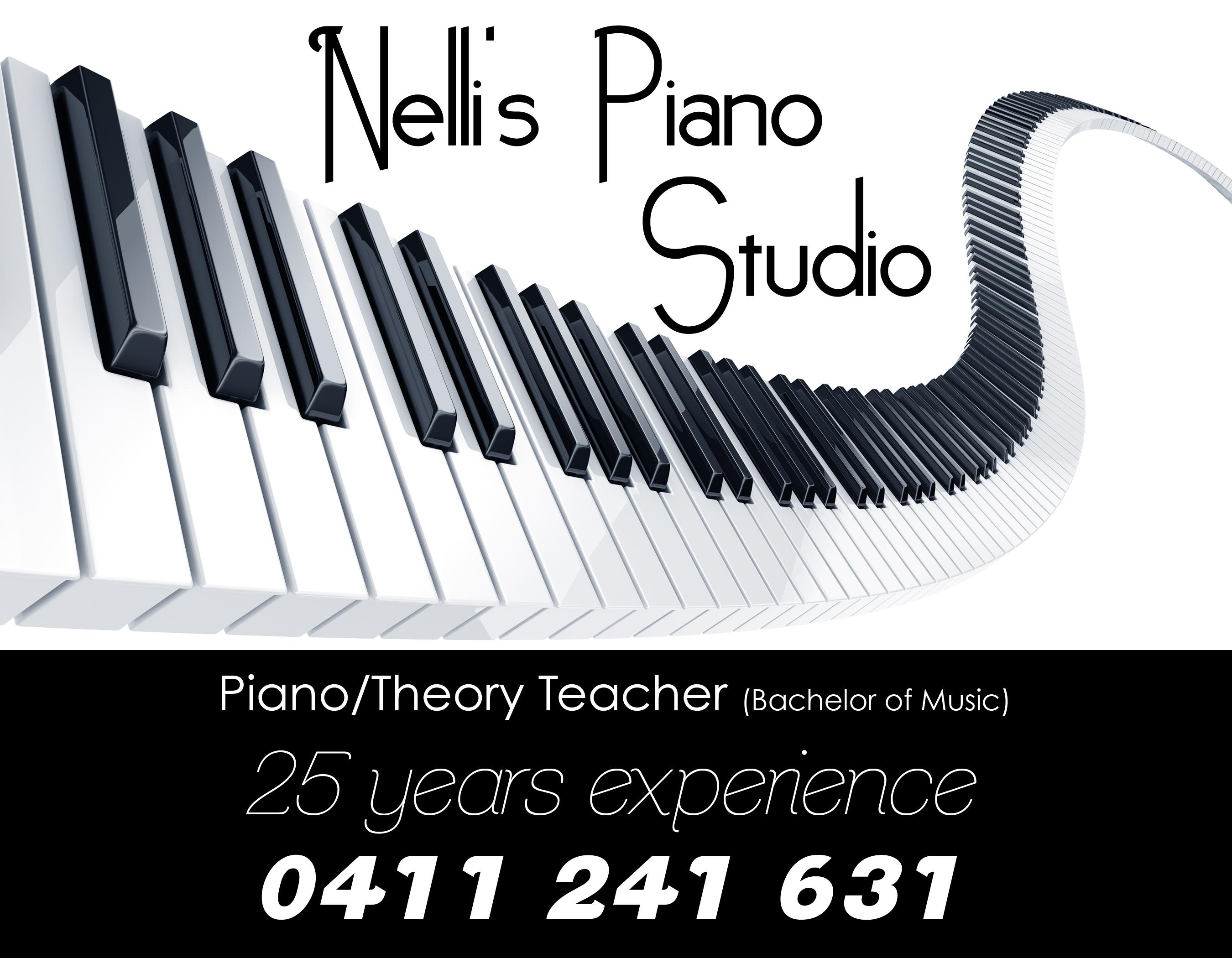 Nellis Piano Studio - Piano teacher Caulfield South | 4 Sheridan Grove, CAULFIELD SOUTH, Victoria 3162 | +61 411 241 631