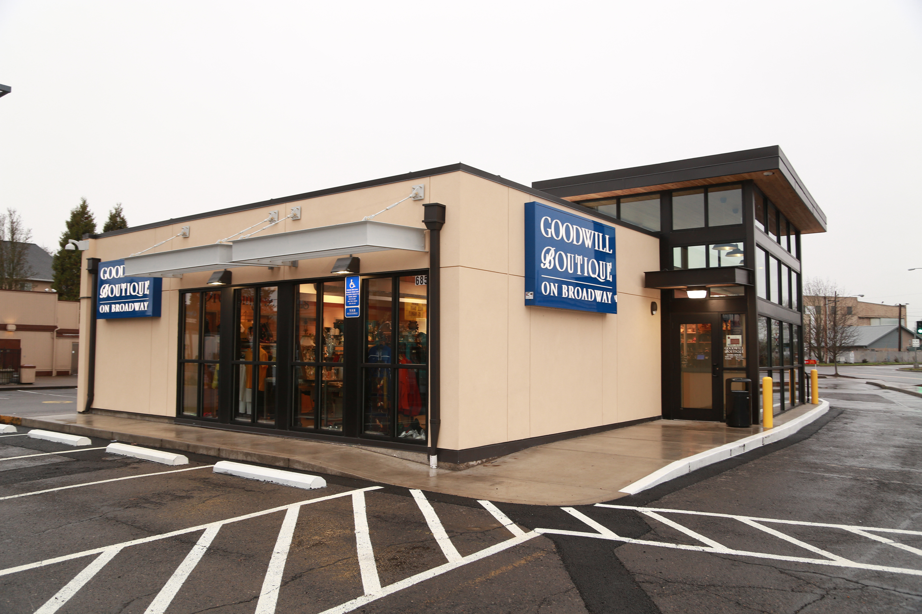 Goodwill Boutique on Broadway Retail Store and Donation Center | 685 E Broadway, Eugene, OR, 97401 | +1 (541) 344-1029