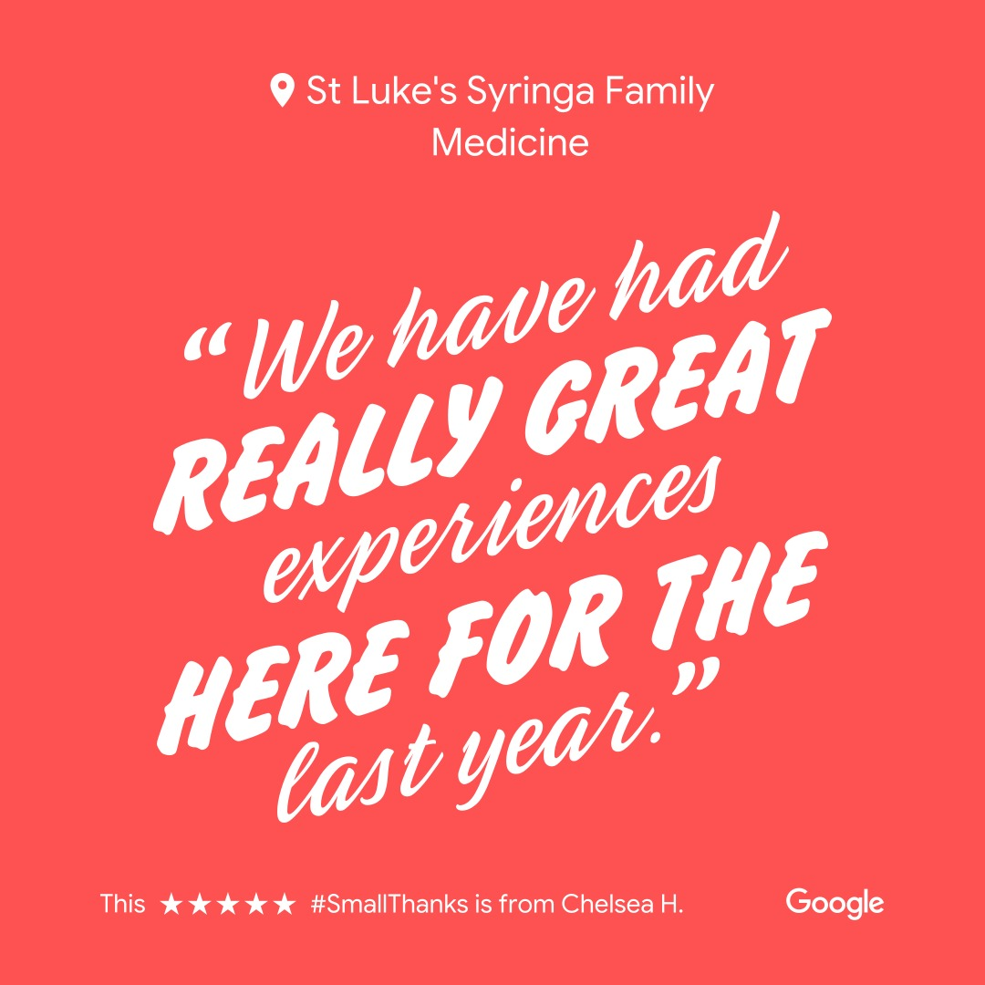 St. Lukes Clinic - Syringa Family Medicine   2347 E Gala St Ste 150, Meridian, ID, 83642   +1 (208) 345-3530