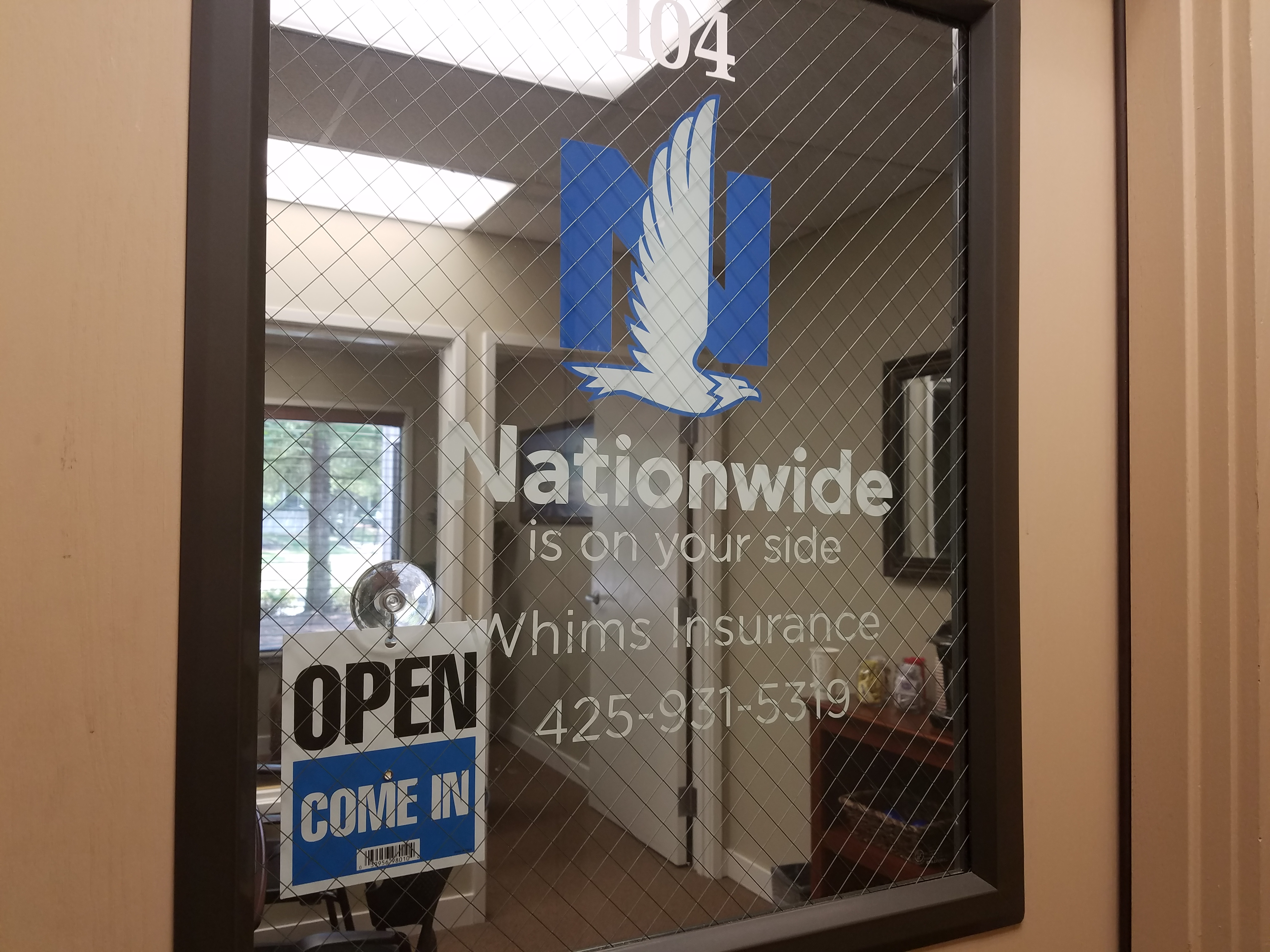 Nationwide Insurance: Whims Insurance and Financial Services Inc.   375 118th Ave SE Unit 104, Bellevue, WA, 98005   +1 (425) 931-5319