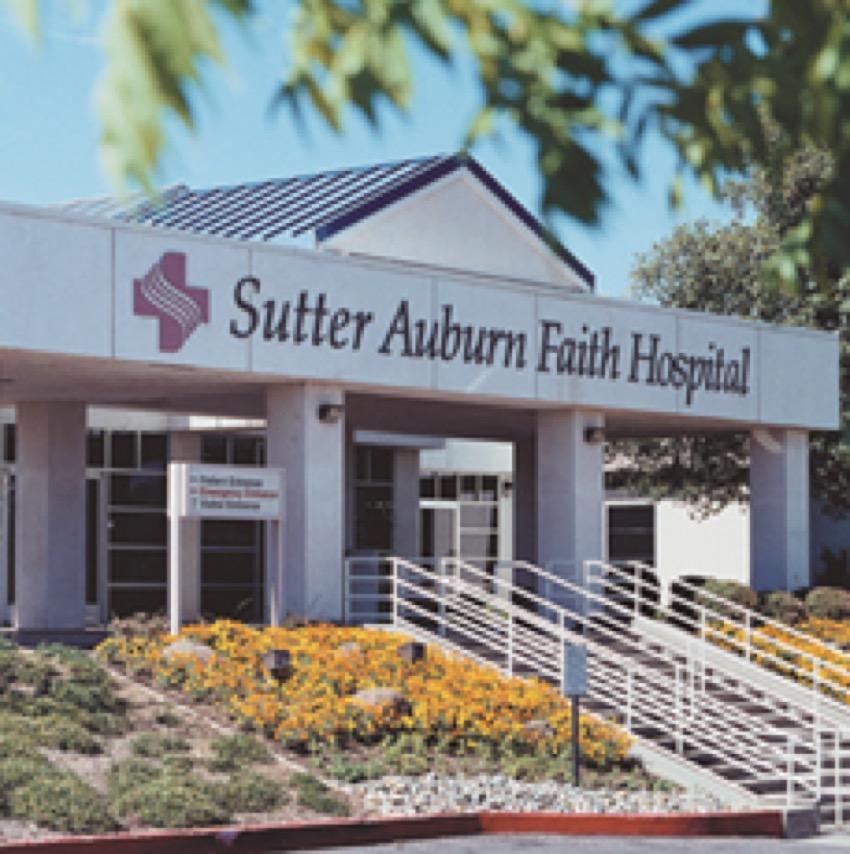 Orthopedic & Spine Surgery: Sutter Auburn Faith Hospital | 11815 Education St, Auburn, CA, 95602 | +1 (530) 888-4500